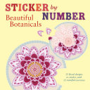 Sticker by Number  Beautiful Botanicals