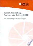 British Gambling Prevalence Survey 2007