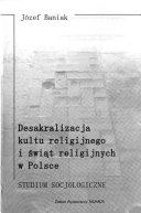 Desakralizacja kultu religijnego i świąt religijnych w Polsce