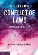 Collier s Conflict of Laws