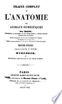 Traité complet de l'anatomie des animaux domestiques