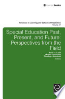 Special education past  present  and future