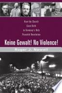 Keine Gewalt  No Violence