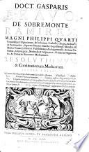 Resulotionum et consutationum medicarum III ed
