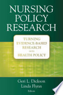 Nursing Policy Research