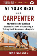 At Your Best as a Carpenter Book