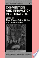 Convention and Innovation in Literature