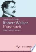 Robert Walser Handbuch