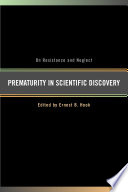 Prematurity in Scientific Discovery Eminent Group Of Scientists Historians
