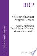 A Review Of Deviant Nonprofit Groups