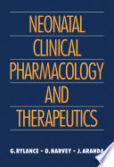 Neonatal Clinical Pharmacology And Therapeutics
