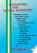 Accounting for Special Business