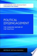 Political  dis engagement