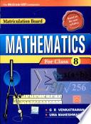 Maths For Cl Viii Mat Board