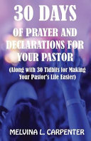 30 Days of Prayer and Declarations for Your Pastor