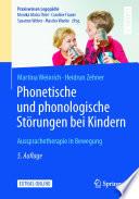 Phonetische und phonologische St  rungen bei Kindern