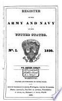 Register of the Army and Navy of the United States