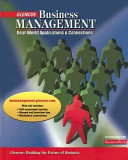 Business Management  Real World Applications and Connections  Student Edition