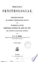 Thesaurus ornithologiae