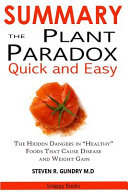 Summary Of The Plant Paradox Quick And Easy