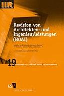 Revision von Architekten- und Ingenieurleistungen (HOAI)