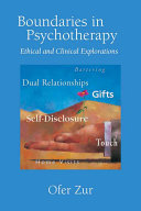 Boundaries in Psychotherapy