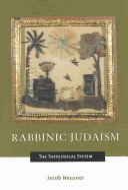Book Rabbinic Judaism