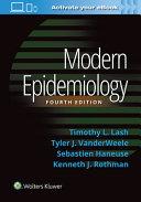 Modern epidemiology /