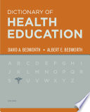 The Dictionary of Health Education