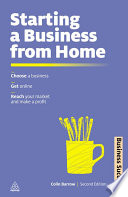 Starting A Business From Home book