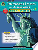 Differentiated Lessons and Assessements  Social Studies  Grade 5