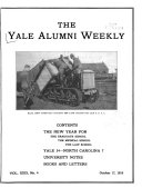 The Yale Alumni Weekly Vol XXIX No 1