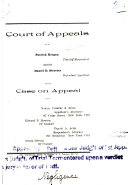 Court Of Appeals: State Of New York:  Vol.56 : ...