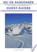 illustration Ski de randonnée Ouest-Suisse