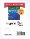 Understanding Psychology Mypsychlab Pegasus With Pearson Etext Student Access Code Card