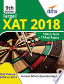 Target XAT 2018  Past Papers 2005   2017   5 Mock Tests    9th Revised Edition