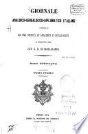 Giornale araldico genealogico diplomatico