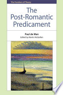 Post-Romantic Predicament Harvard University Years Published For The First Timethese
