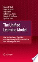 Ebook The Unified Learning Model Epub Duane F. Shell,David W. Brooks,Guy Trainin Apps Read Mobile