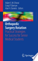 Orthopedic Surgery Rotation