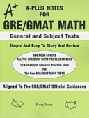A Plus Notes for GRE GMAT Math