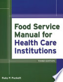 Food Service Manual for Health Care Institutions