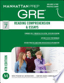 GRE Reading Comprehension   Essays