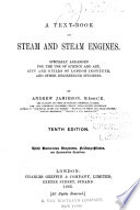 Text book on Steam and Steam Engines Book PDF