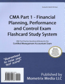 CMA Part 1   Financial Planning  Performance and Control Exam Flashcard Study System