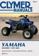 Yamaha Banshee 1987 2006