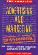 The complete advertising and marketing handbook