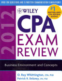 Wiley CPA Exam Review 2012  4 Volume Set