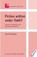 Fiction Written Under Oath