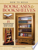 How to Build Bookcases   Bookshelves